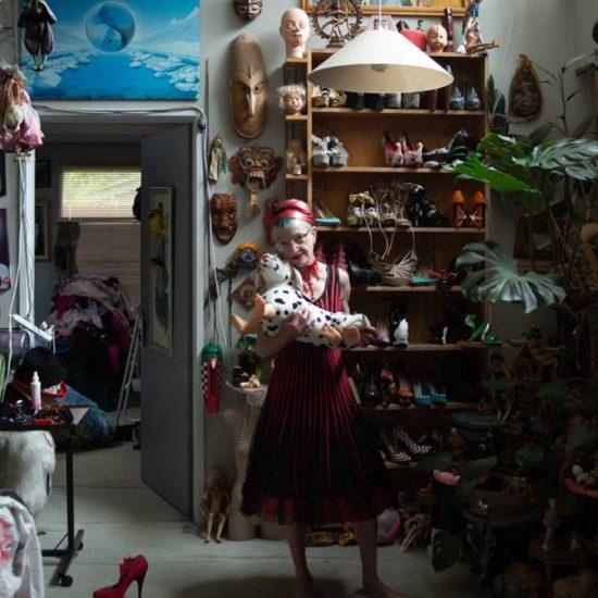 Kristina Krakov portrait - National Photographic Portrait Prize Art Handlers' Award, blog reference, Ultra Violet Lair -
