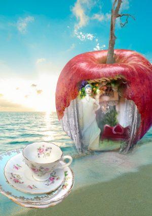 digital artwork, send your photo, placement in apple boudoir scene