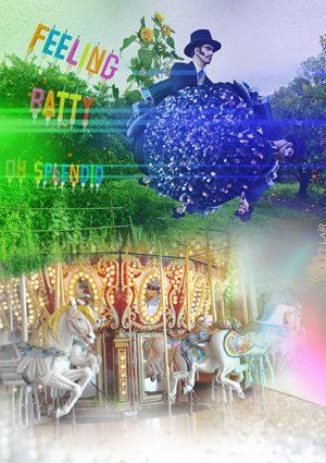 digital artwork, send your photo, placement in batty scene
