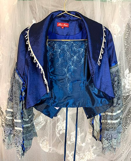 Costuming at the Lair - Blue ice jacket