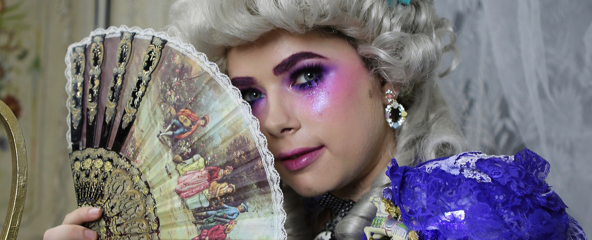 Ultra Violet Lair - Costuming with model Mimi