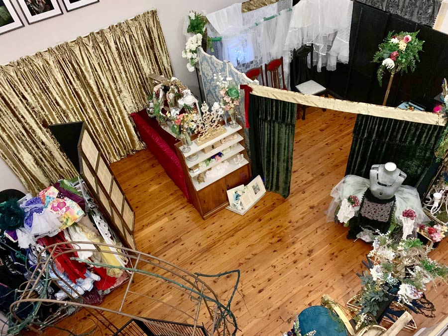 The Lair - Studio space, view from above